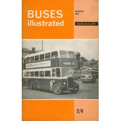 Buses Illustrated 1963 March