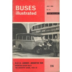 Buses Illustrated 1964 July