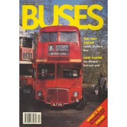 Buses 1994 April