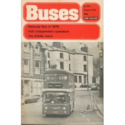 Buses 1976 August