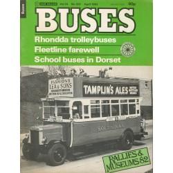 Buses 1982 April