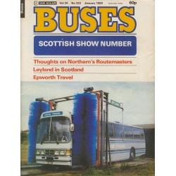 Buses 1982 January