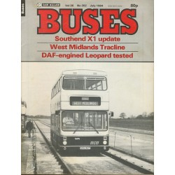 Buses 1984 July