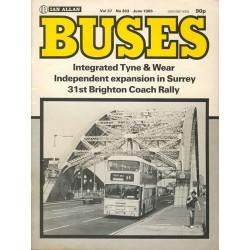Buses 1985 June