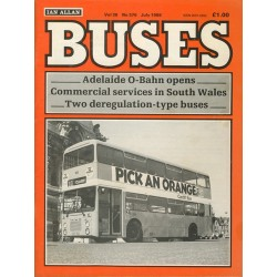 Buses 1986 July