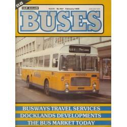 Buses 1989 February