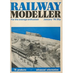 Railway Modeller 1976 January
