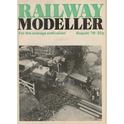 Railway Modeller 1976 August