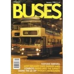 Buses 1998 June