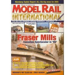 Model Rail International 2005 April
